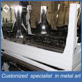 Mobília de aço da HOME da tabela do retângulo de Staniless da prata do projeto moderno de Europa