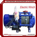 전기 드는 철사 밧줄 케이블 호이스트 기중기를 사용하는 2ton 배속 기중기