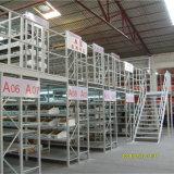 Stufen-Mezzanin des China-Hersteller-2 mit Stahlvergitterung