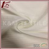 Tessuto di seta puro del jacquard bianco di seta della banda di 100%