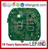 녹색 땜납 가면 V0 PCB 회로판, PCB는 모인다