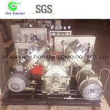 Compresor de alta presión del diafragma del gas raro