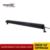 Barre de l'éclairage LED 288W de la haute énergie 50 '' pour la lumière tous terrains