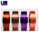 Le dopant des fils de polyesters de filament FDY 70d/36f a teint
