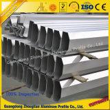 Bâti en aluminium anodisé pour le guichet et la porte