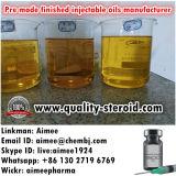 Trenbolone 아세테이트 스테로이드 분말과 주입 액체 100mg/Ml CAS 10161-34-9