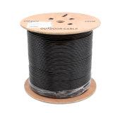 Напольный PE Doulbe LSZH CCA 4pair 8core кабеля категории 5e