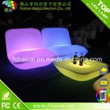 Vector y Charis de la barra de los muebles de lujo LED de la cachimba que brilla intensamente