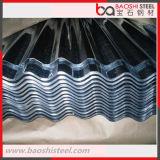 Galvanizado cubriendo la hoja/la placa de azotea galvanizada fabricación