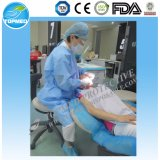 Стерильная терпеливейшая устранимая хирургическая мантия для стационара