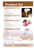 Kaffee-Getränk-Rahmtopf mit guter Qualität