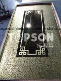 201 304 316 color decorativo de acero inoxidable placa de la hoja con 8k Espejo Aguafuerte Finsh