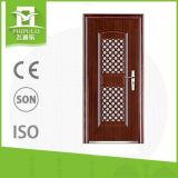 Puertas de acero exteriores de la seguridad del amo de la puerta de la seguridad de la venta caliente de calidad superior