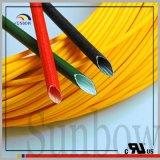 A batalha de Sunbow UL1441 resiste a flama - fibra de vidro retardadora do silicone que Sleeving Sb=B-SGS-15