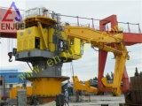 100t de hydraulische Kraan van het Schip van de Voorziening van het Voetstuk van de Kraanbalk van de Boom van het Gewricht van de Kraan van de Boom van het Gewricht Hydraulische Telescopische Zee