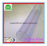Película plástica rígida transparente colorida do PVC