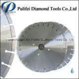 300 mm 400 mm 450 mm mármol Hoja de sierra con el segmento de corte de piedra mojada sinterizado