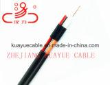 RG6 coaxiale Kabel met de AudioKabel van de Kabel van de Macht