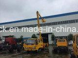 판매를 위한 Isuzu 4*2 높은 공중 플래트홈 작동되는 트럭