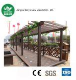 Pergola composé en plastique en bois extérieur/jardin