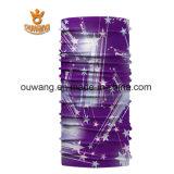 Bandana principal magique fait sur commande de bandeau de polyester d'écharpe