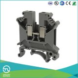 Switch-Type de Jut1-4 0.5-10mm que prende o bloco de terminais elétrico
