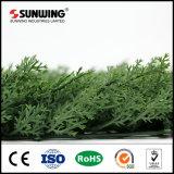 Искусственная изгородь загородки ПЛЮЩА зеленой травы для сада