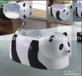 Mooie Panda Shape Massage Bathtub SPA met Ce en RoHS Speciaal voor Baby (bij-LW110)