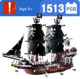 Plastikpiraten-Serien-Schwarz-allgemeines Block-Spielzeug für Kinder