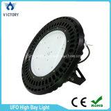 La lampada industriale IP65 del UFO Highbay impermeabilizza l'alto indicatore luminoso della baia di 150W LED