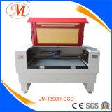 Mittlere Größen-Laser-Ausschnitt-Maschine für Tuch-Zubehör (JM-1390H-CCD)
