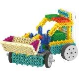 Fernsteuerungs-RC Blöcke des Block-1488719-Bulldozer des Installationssatz-stellten Ausbildungs-kreatives Spielzeug 75PCS - die gelegentliche Farbe ein