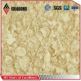Ideabond spezielle blick-Pfosten-Aluminium-Umhüllung der Serien-4mm Stein