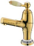 Роскошные Одной ручкой Латунь ванной Zf-03 Выдвижной смеситель для раковины кран