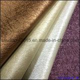 Couro Semi-PLUTÔNIO para o couro de Upholstery da decoração da tampa da parede