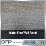 Tuile gris-clair et rouillée de panneau de mur de granit de mur pour la tuile de mur de jardin d'horizontal