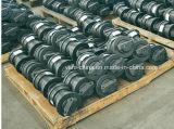 Rouleau de bas de rouleau de piste d'excavatrice (Hitachi Ex120 Ex200)