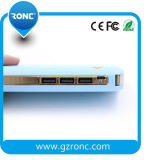 Chargeur portatif mobile de remplissage rapide de côté du pouvoir 10000mAh