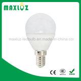 E14 luz de bulbo ahorro de energía del globo LED P45