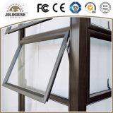 Ventana colgada superior de aluminio barata de la fábrica de China