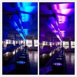 Nuovi 54X3w RGBW impermeabilizzano l'indicatore luminoso di PARITÀ del LED per l'illuminazione esterna