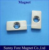 ねじ穴が付いているブロックのNdFeBの磁石
