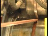 銅およびAlunの押出機の放出はaを差し込む