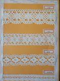 면 털실 자카드 직물 레이스 끈 기계 96spindle