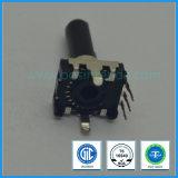 de Roterende Codeur van 12mm met de Plastic Vlakke Schacht van de Schakelaar voor AudioApparatuur