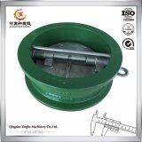 Soem-Roheisen-duktiles Eisen-Gussteil mit grünem Farbanstrich