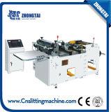 Machine de découpage d'étiquette, machine de découpage en travers