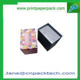 Verpakkende Vakje van het Horloge van het Product van de Gift van het Met een laag bedekte Document van de douane het Elektronische Digitale