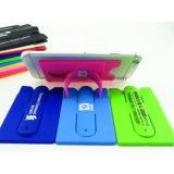 Portatarjetas promocional del soporte del teléfono móvil del silicón