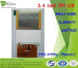 2.4 Duim Qvga 240*320 MCU 37pin Aangepaste TFT met 16 bits LCD
